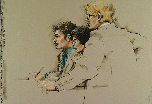 Courtroom Sketch - Wikipedia