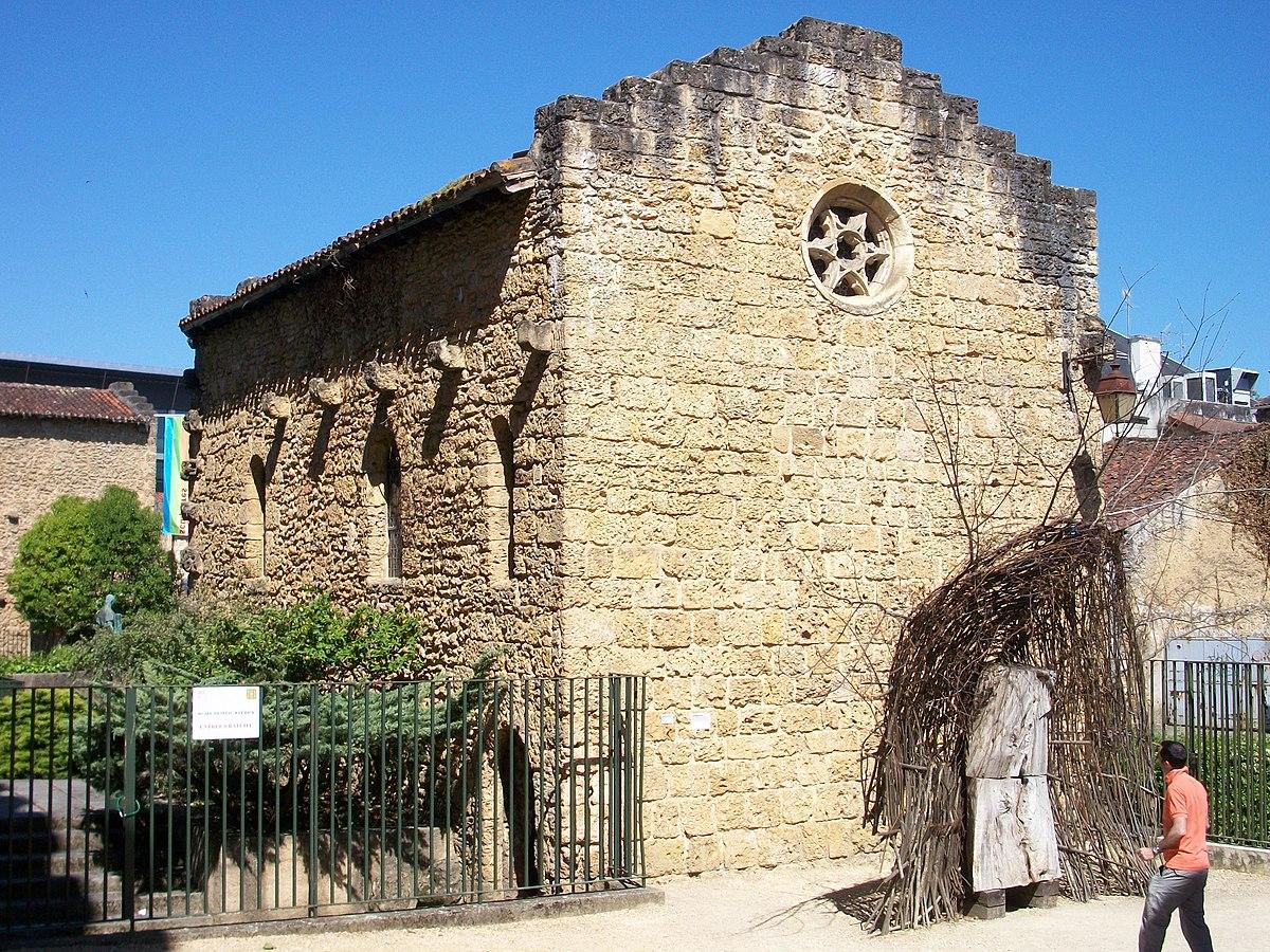 Ancienne Chapelle Romane Mont De Marsan Wikipdia