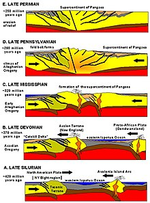 diagram of fold mountains formation 22re ecu wiring pangaea - wikipedia