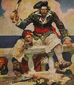 Cover of Blackbeard, Buccaneer: Blackbeard and...