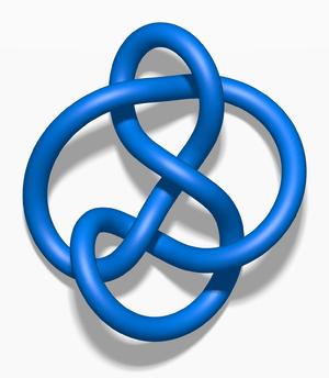 English: A 6 3 knot.