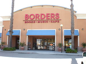 Borders in San Mateo, California.