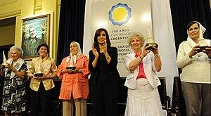 Español: Presidente argentina Cristina Fernánd...