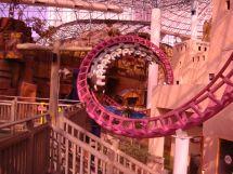 Canyon Blaster Roller Coaster