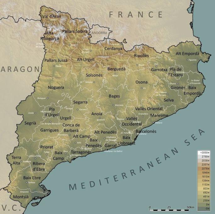 Catalunya+Comarques+English