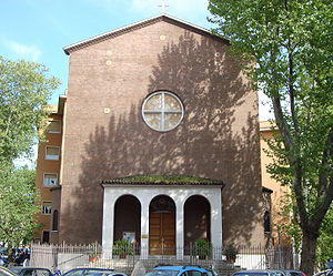 Français : Eglise du Preziosissimo Sangue di N...