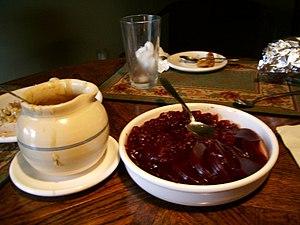 Cranberry sauce & Gravy
