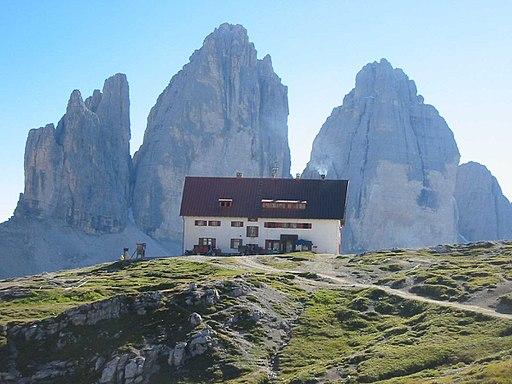 Drei Zinnen Hütte-Rifugion Locatelli 2