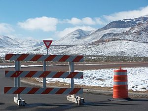Snow on Franklin Mountain & El Paso, causes a ...