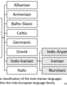 Chart classifying indo iranian languages within the european language family also wikipedia rh enpedia