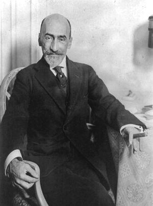 Jacinto Benavente y Martínez (1866 – 1954), sp...
