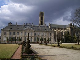 the episcopal palace limoges