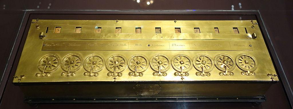 FileMechanical calculator ten places Blaise Pascal France c 1650  Mathematisch