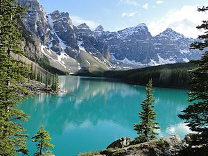 Moraine Lake July-2011
