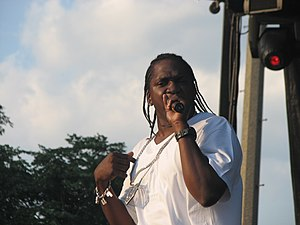 Pusha T of Clipse at the Pitchfork Music Festival.
