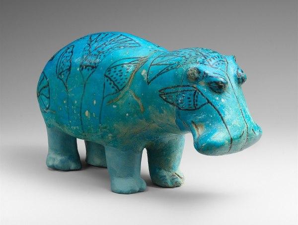 William Faience Hippopotamus - Wikipedia