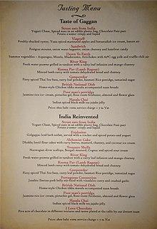 Gaggan restaurant  Wikipedia