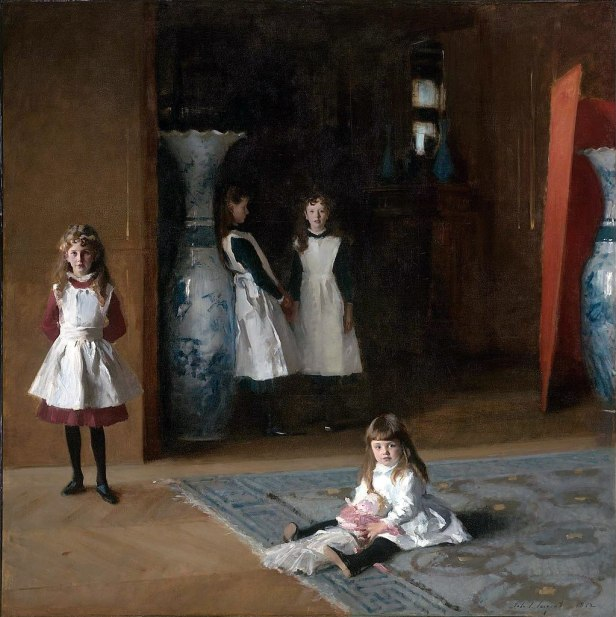 """""""The Daughters of Edward Darley Boit"""" byJohn Singer Sargent"""