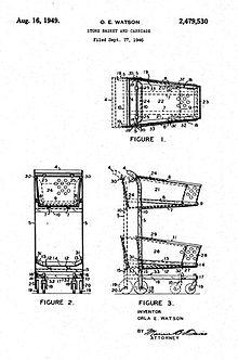 electric wheelchair wiring diagram 2005 pt cruiser shopping cart wikipedia development of nesting carts by orla watson edit