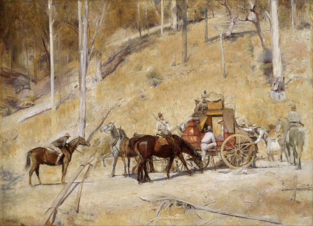 Bailed Up by Tom Roberts