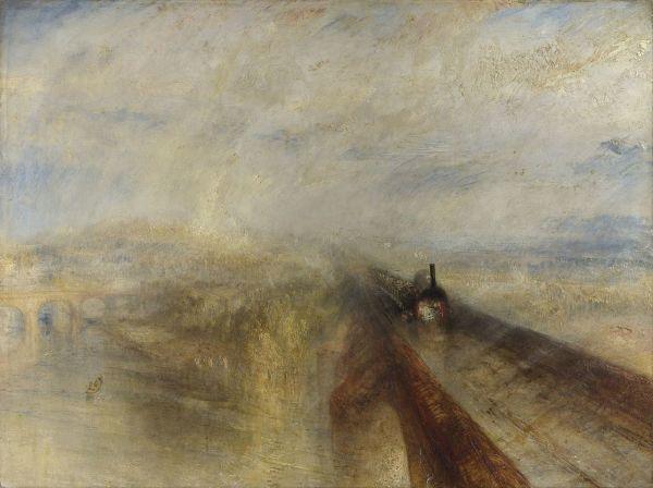 Turner Rain Steam and Speed