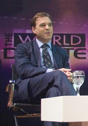 Panelist Economic Historian Niall Ferguson at ...