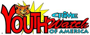 The logo, including Casey, for the YCW of America