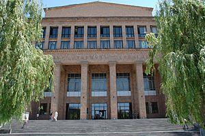 Bâtiment de l'université d'État d'Erevan, Arménie