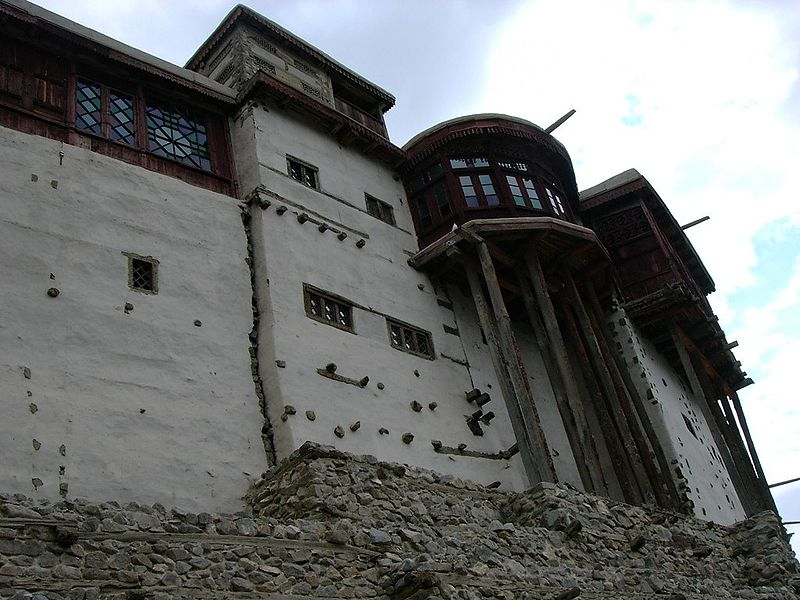 File:Balti fort in hunza.jpg