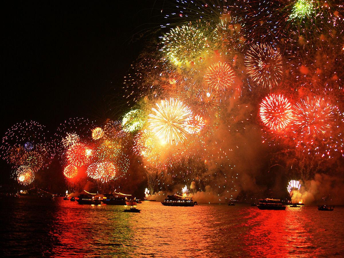 Northern Lights Fireworks