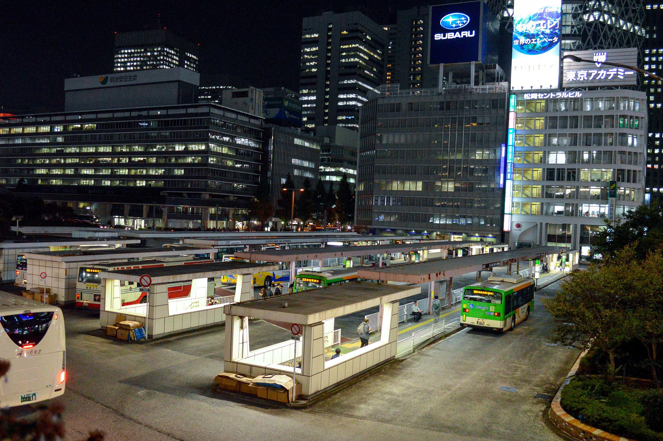 利木津巴士新宿站西口24番疑問 #9165299