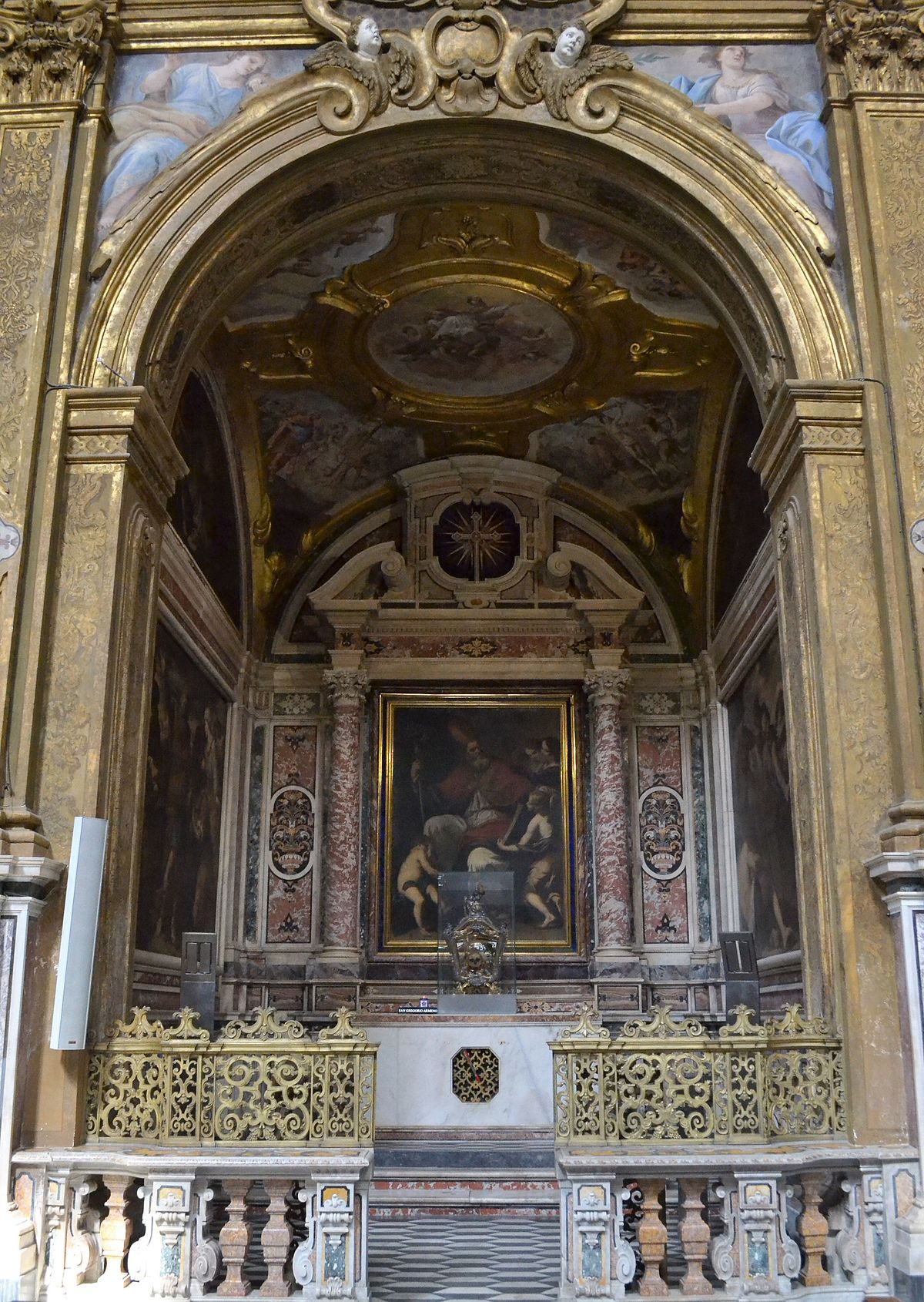 Cappella di San Gregorio Armeno  Wikipedia