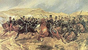 Charge of the Light Brigade. An example of the...