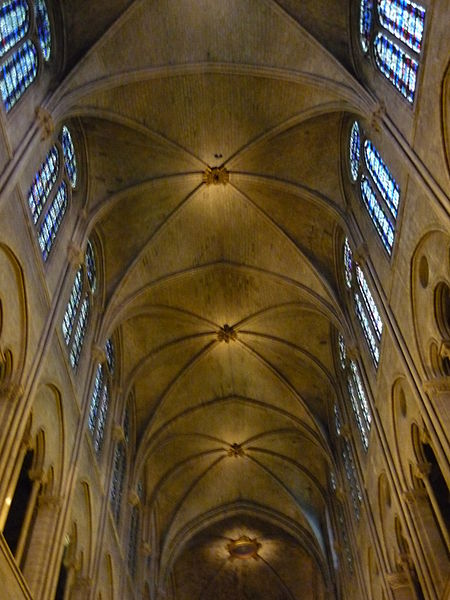 FileCeiling Notre Dame Paris ZMJPG  Wikimedia Commons