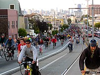 San Francisco Critical Mass, April 29 2005.