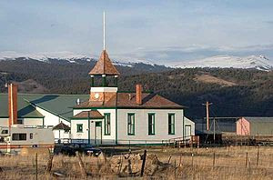 One-room school building in Jefferson, Colorado