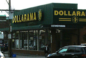 Dollarama discount store, 1337 Queen St. West,...