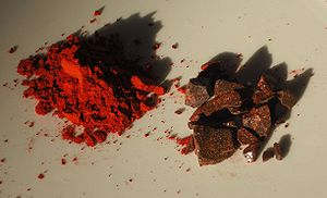 Dragon's blood(Daemomorops draco) crushed ince...