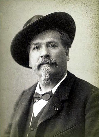 Frederic Mistral, who stole my beard, the bastard!