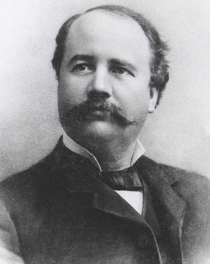 English: Garret Augustus Hobart.