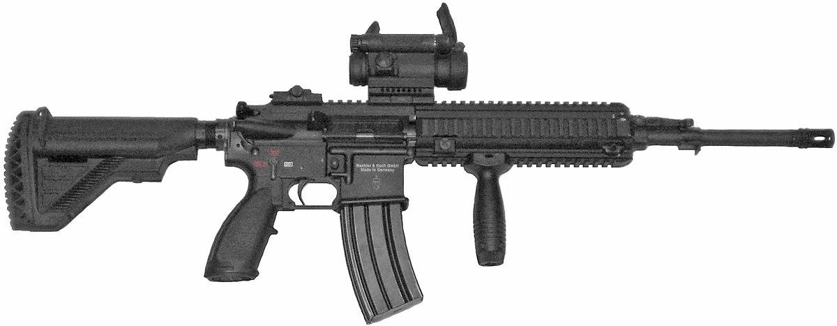 Heckler & Koch HK416 - Wikipedia