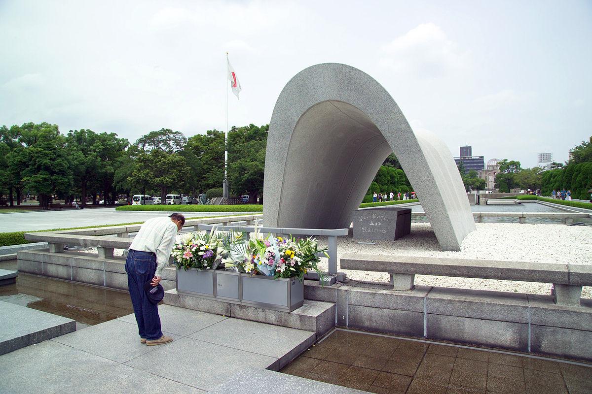 Taman Monumen Perdamaian Hiroshima  Wikipedia bahasa