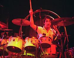 Keith Moon nel 1975