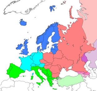 File:Location-Europe-UNsubregions, Kosovo as part of Serbia.png