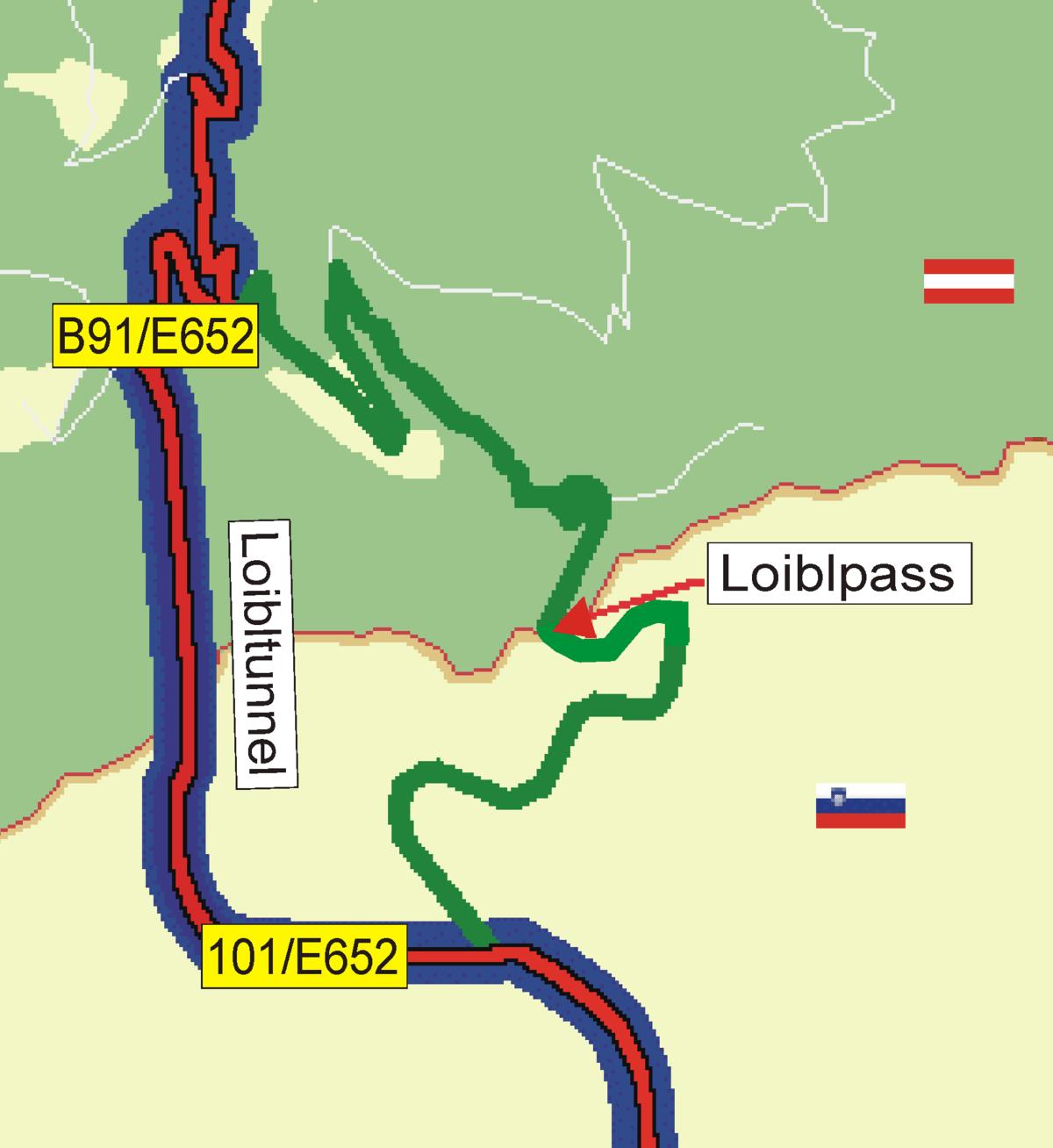 Loibl Pass  Wikipedia