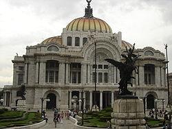 Bellas Artes Palace in Mexico City.