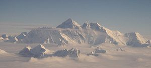 Mt Everest aerial 2005