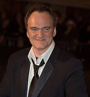English: Quentin Tarantino in Paris at the Cés...