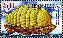 Prangko peringatan 600 tahun perjalanan Admiral Cheng Ho