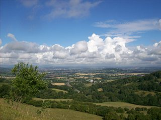 View from Barrow Wake, Gloucestershire